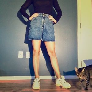 Lee Vintage Denim Mom Shorts